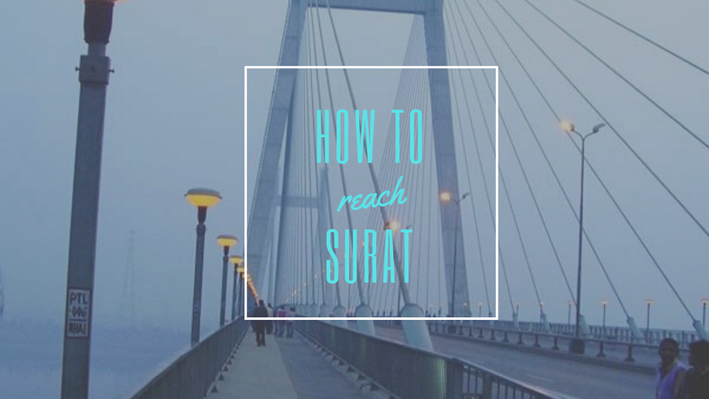 how to reach surat
