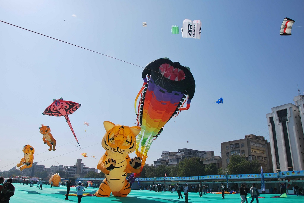 Big Festival of Surat - Kite Festival