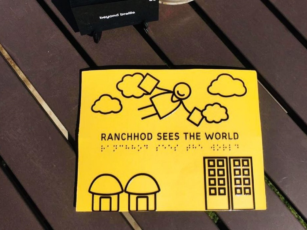 Ranchhod Sees the World book by beyond braille