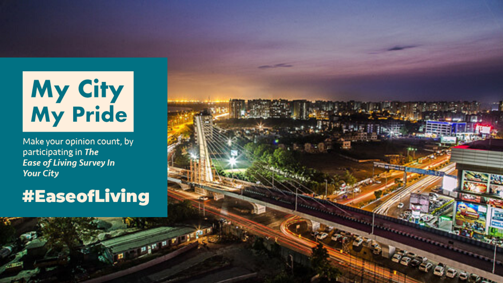 ease of living index vote for surat city