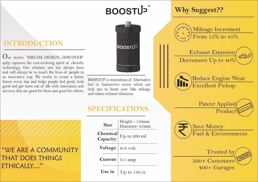 chemfrix boost up intro brochure