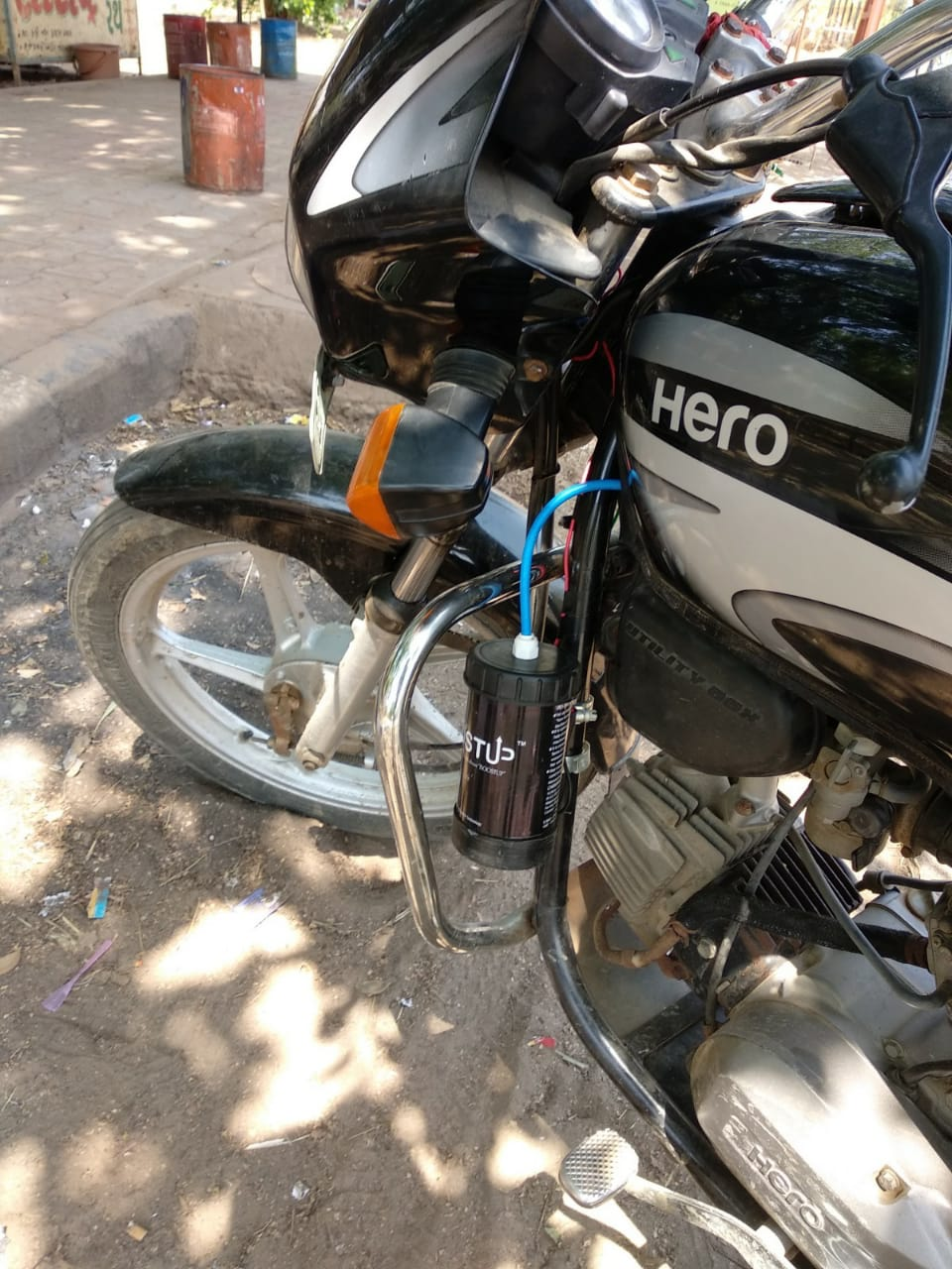 how to install boost up in hero honda