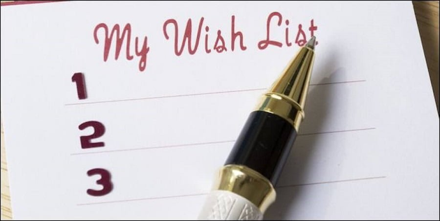 Make your wish list for life post-lockdown