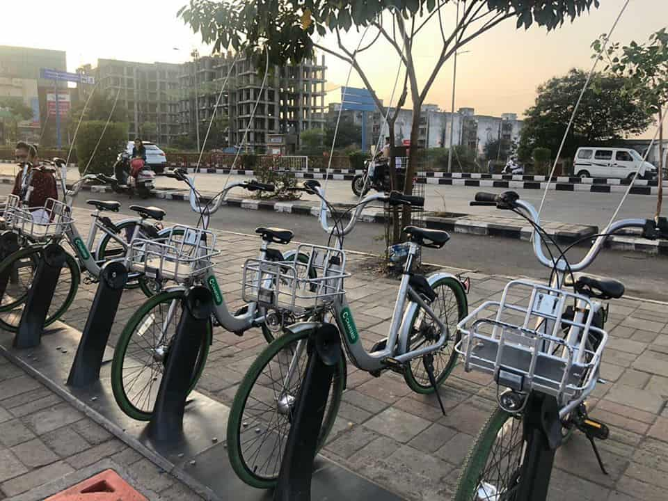 surat chartered bike sharing service at docking stations