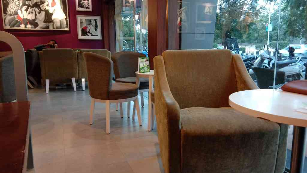 cafe coffee day inside image