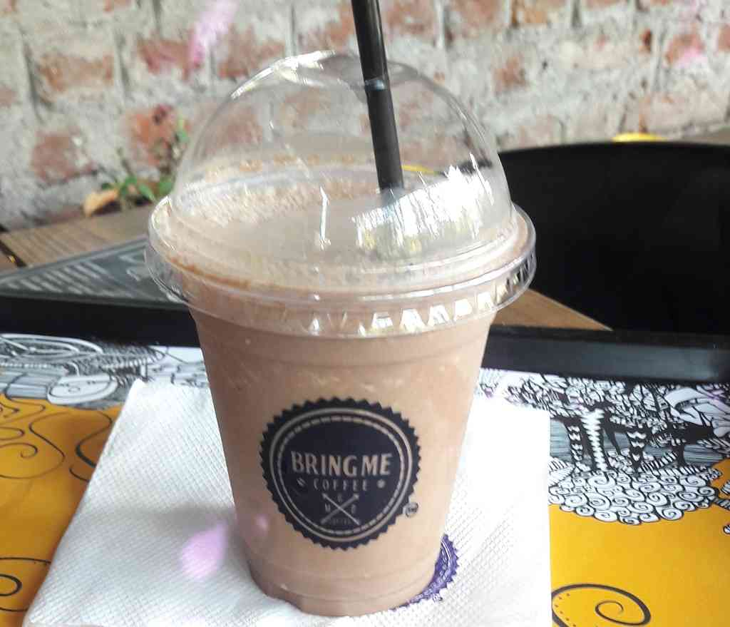 choco frappe at bring me coffee