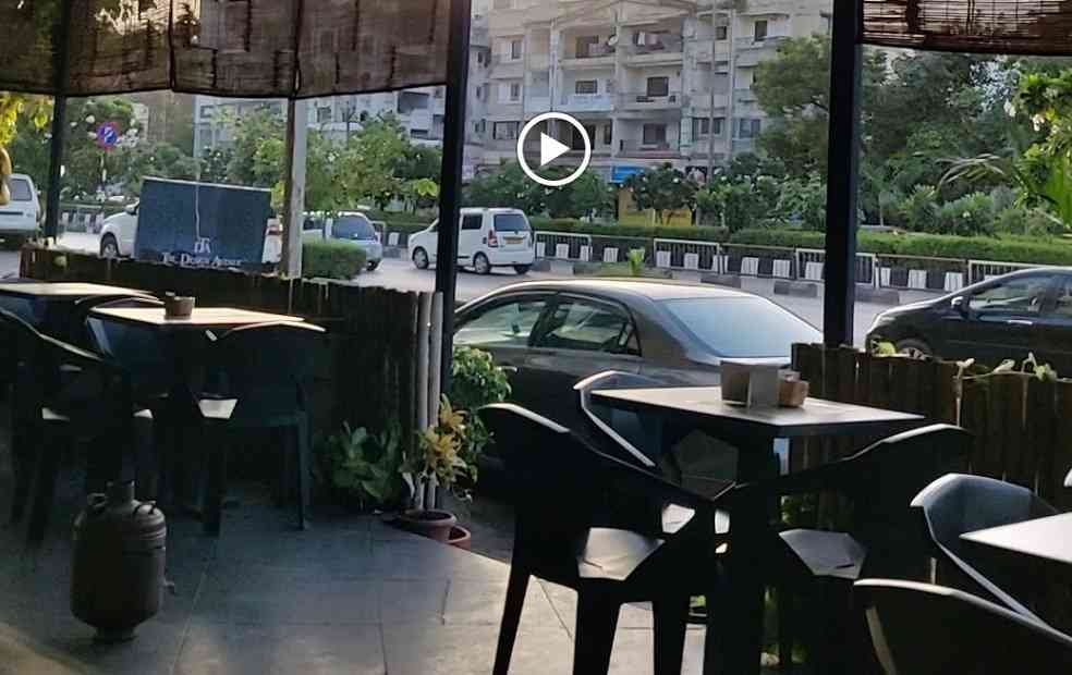parking space at bring me coffee shop surat piplod